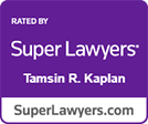 Super Lawyers Tamsin Kaplan logo