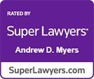 Super Lawyers Andrew Myers logo