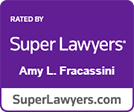 Super Lawyers Amy Fracassini logo