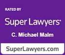 Super Lawyers Michael Malm logo