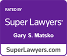 Super Lawyers Gary Matsko logo