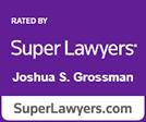 Super Lawyers Joshua Grossman logo
