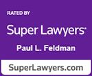 Super Lawyers Paul Feldman logo