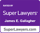 Super Lawyers James Gallagher logo