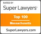 Super Lawyers Top 100 Massachusetts logo