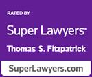 Super Lawyers Thomas Fitzpatrick logo
